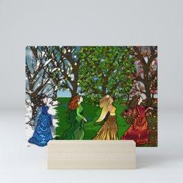 Saisons Mini Art Print
