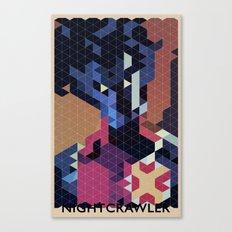 Geometric Nightcrawler Canvas Print