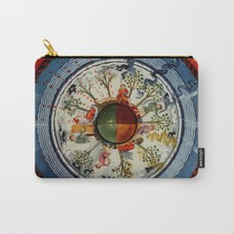 The Celestial Circle of Life Carry-All Pouch