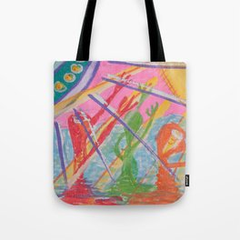 """Alien Worship"" (7138) Tote Bag"