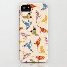 Vintage Wallpaper Birds Slim Case iPhone (5, 5s)