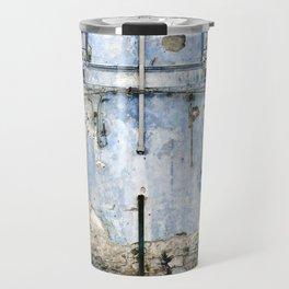 BLUE FACADE of SICILY Travel Mug