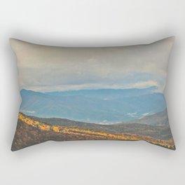 A Ray of Light (Asheville, North Carolina) Rectangular Pillow