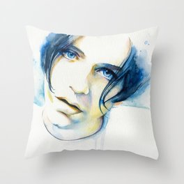 Brian Molko (I'll be yours) Throw Pillow
