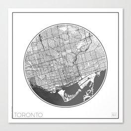 Toronto Map Universe Canvas Print