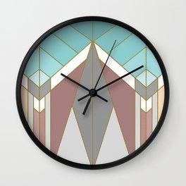 ART DECO G2 (abstract geometric) Wall Clock