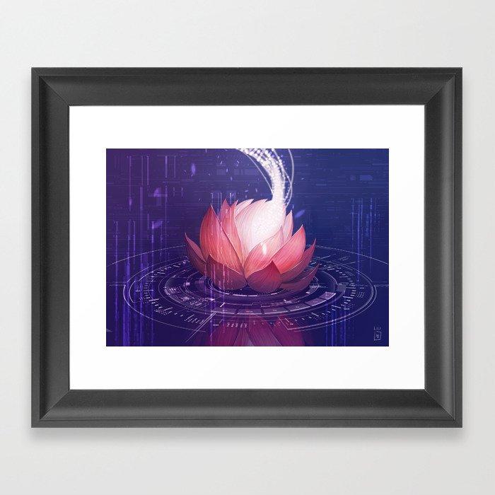 Netrunner - Self Modifying Code Framed Art Print by liliibrahim ...