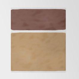 Primitive Color I Throw Blanket