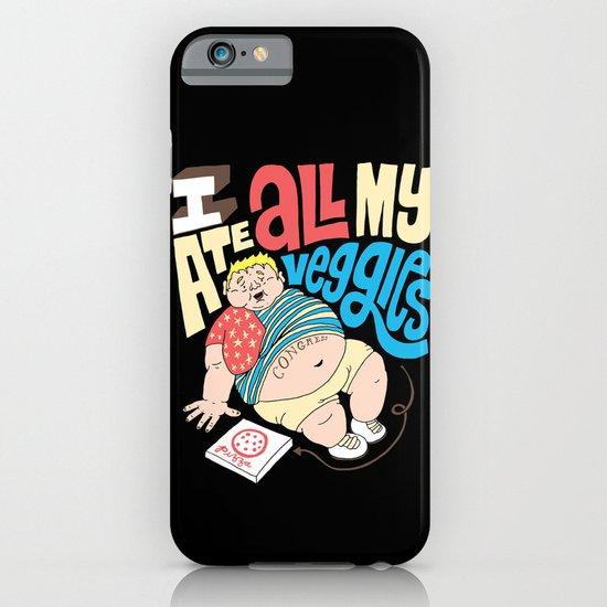 Pizza Veggies iPhone & iPod Case