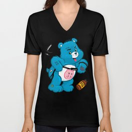 Dirty Bear Unisex V-Neck