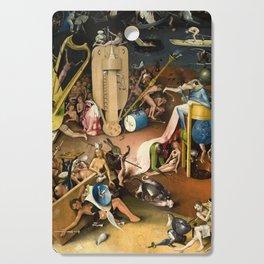The Garden of Earthly Delights - Bosch - Hell Bird Man Detail Cutting Board