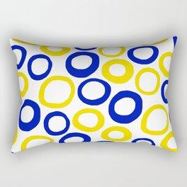 Calamari Hoops 01 Rectangular Pillow