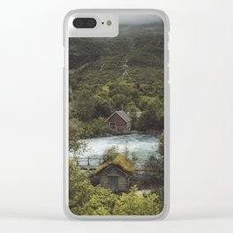 Cabins Clear iPhone Case