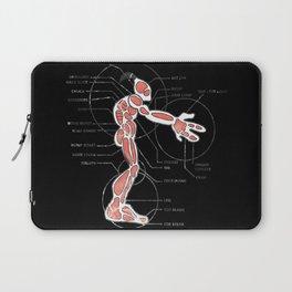 Mudokon meat chart Laptop Sleeve