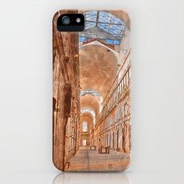 Battered Prison Corridor iPhone Case