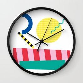 Memphis Series 04 Wall Clock