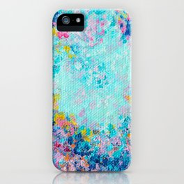 Follow my heart, Abstract Painting iPhone Case