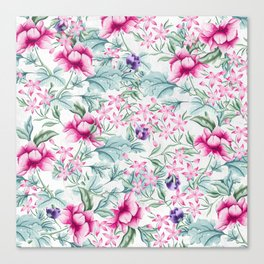 Floral Pattern 3 Canvas Print