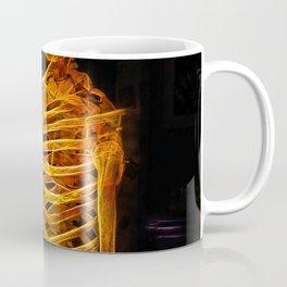 Skeleton Fractal Skull Coffee Mug