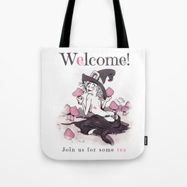 Join us for some tea Tote Bag