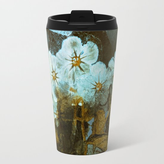 Fower in winter Travel Mug