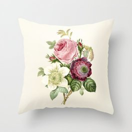 Floral Art #6 Throw Pillow