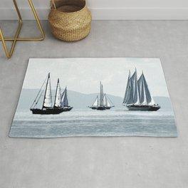sailboats Rug