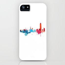 Hong Kong Cityscape Watercolor iPhone Case