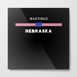 Hastings Nebraska Metal Print
