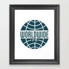 WorldWide FM Framed Art Print