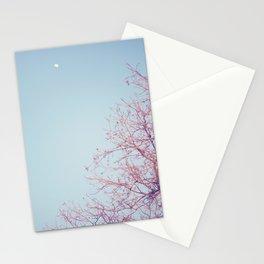 Peek-a-Boo Moon Stationery Cards