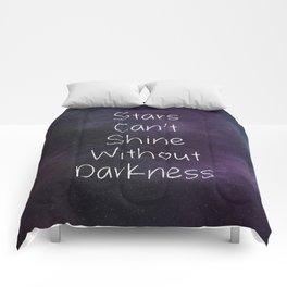 Stars Can't Shine Comforters