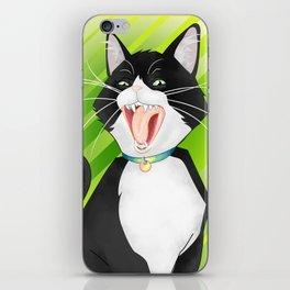 Screaming Cat iPhone Skin