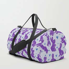 Bunny love - Purple Carrot edition Duffle Bag