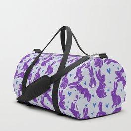 Bunny love - Purple Carrot edition Duffle Bag