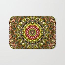 Persian kaleidoscopic Mandala G510 Bath Mat