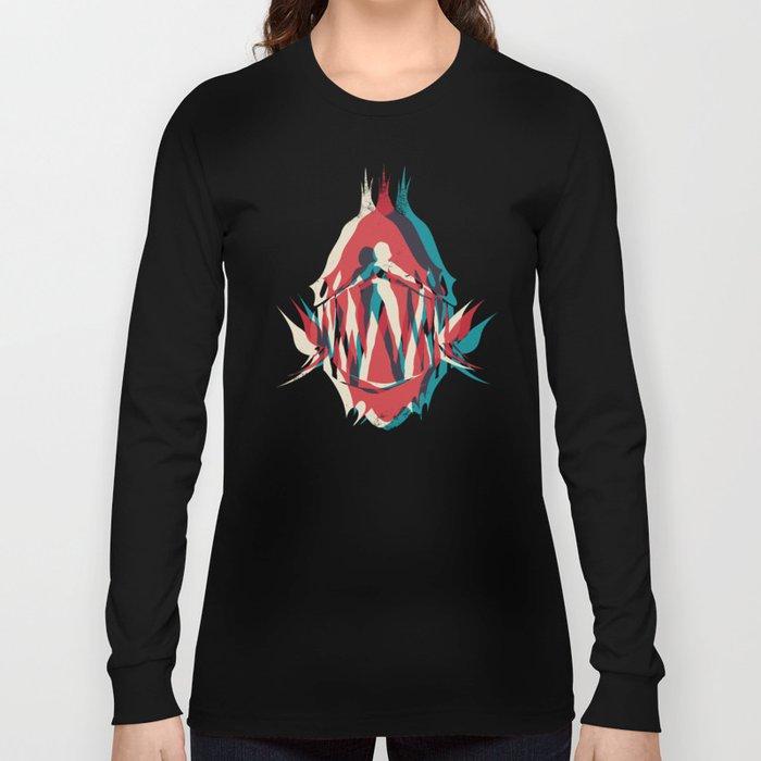 Piranha Girl Long Sleeve T-shirt