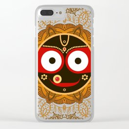 Jagannath. Indian God of the Universe. Lord Jagannatha. Clear iPhone Case