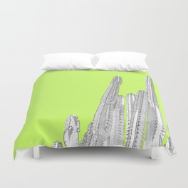 Lime Cordial Duvet Cover