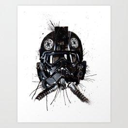 Tie Art Print