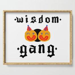 Wisdom Gang Serving Tray