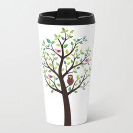 The bird tree guardian Travel Mug