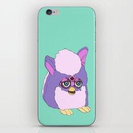 Purple Furby iPhone Skin