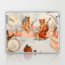 CATS ORCHESTRA - Louis Wain Cats Laptop & iPad Skin