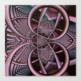 Mind-boggling, fractal abstract Canvas Print