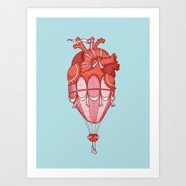 Up!  (Light at heart) Art Print