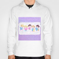 shinee Hoodies featuring SHINee Sleepover by sophillustration