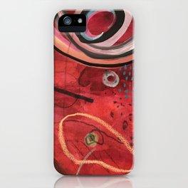 Rising head iPhone Case