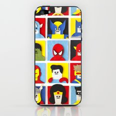 Felt Heroes iPhone & iPod Skin