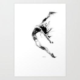 Dance Moves 18 Art Print